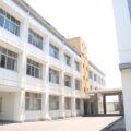 池田中学校の外観