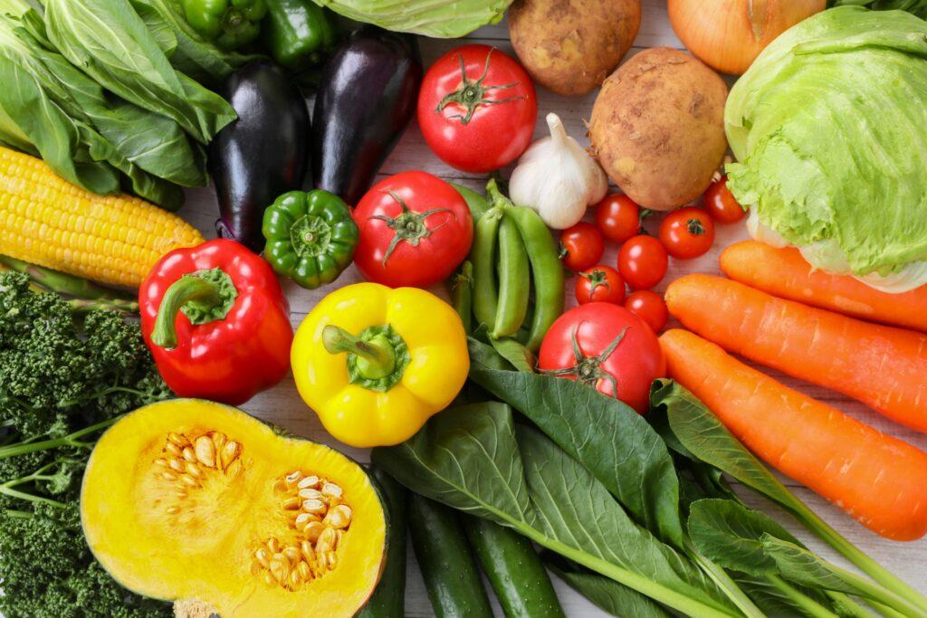色々な野菜のイメージ