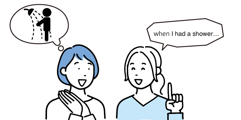 英語での会話