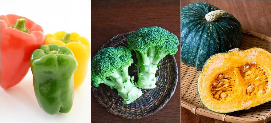 ビタミンACEが豊富な野菜